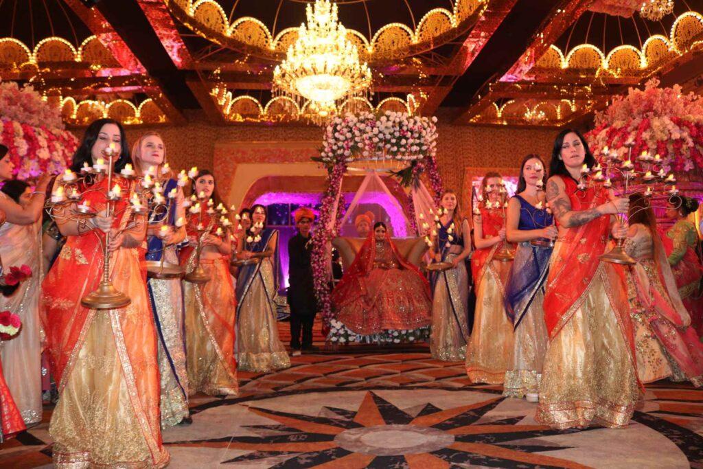 VR Wedding Planners in Delhi NCR | Special Bride & Groom Entry Service in Delhi NCR